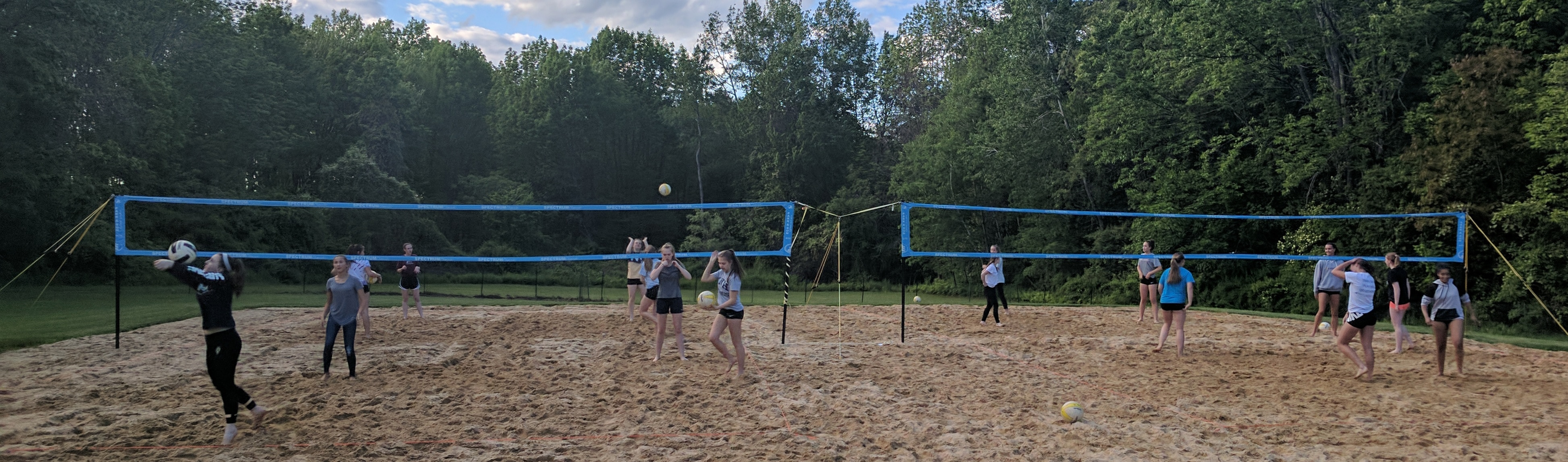 Great Bay Volleyball Club, Volleyball, Competence Builds Confidence, Court